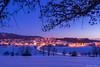 Gosheim in the dusk (robd85) Tags: gosheim schwäbische alb blaue sunde sony a7ii carl zeiss 2470za emount winter blue hour swabian germany landscape