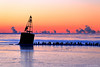 Lake Michigan Sunrise (dpsager) Tags: chicago dpsagerphotography lakemichigan navypier winter water sunrise