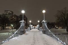Boston_20170107_024 (falconn67) Tags: boston night snow publicgarden bridge longexposure storm winter newengland canon 5dmarkiii 24105l