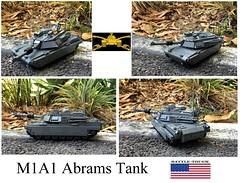 M1A1 Abrams Tank (Lego Admiral) Tags: usa army cavalry armour armor m1 m1a1 tank mainbattletank lego