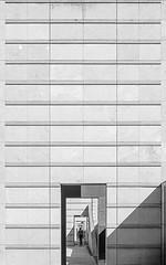 DSC_3051-2 (deborahb0cch1) Tags: blackandwhite monochrome building lines symmetry geometric perspective minimalism