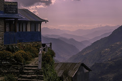 Annapurna Trek (Henry der Mops) Tags: 90a5832 asien annapurna annapurnabasecamp annapurnatrek nepal himalayas himalaya asia berge trekking treppen wandern wanderlust hiking hochgebirge mplez henrydermops canoneos7dmarkii landruk
