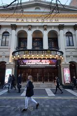 London Palladium (wearearchers) Tags: theatreland westend londonpalladium digitalleddisplay digitalscreen theatre theatrefrontofhouse