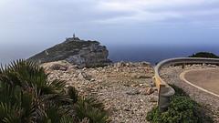 The lighthouse (Sascha Fiori) Tags: faro costa mare panorama capo caccia alghero strada cielo nuvole nuvoloso illumina sardegna rocce seascape