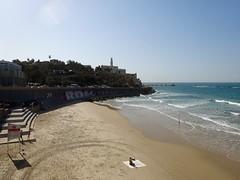 Strand en Jaffa (Tel Aviv)