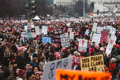 Women's March on Washington - 1/21/17 by mollyktadams, on Flickr