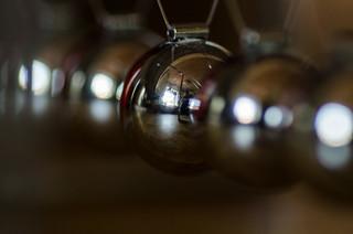 Metal balls...