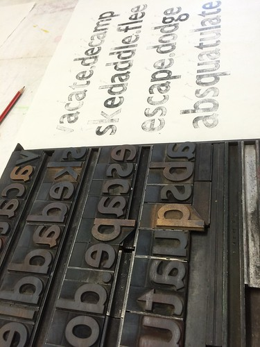 """Letterpress tests for Intersect exhib • <a style=""""font-size:0.8em;"""" href=""""http://www.flickr.com/photos/61714195@N00/33324530932/"""" target=""""_blank"""">View on Flickr</a>"""