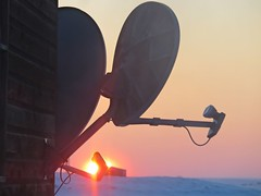 IMG_1197_1 (savillent) Tags: tuktoyaktuk northwest territories canada landscape sunset sun snow arctic north climate environment colors travel places mars canon point shoot frozen cold march 2017