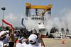 Majlis penamaan dan pelancaran kapal pertama generasi baru (NGPC) untuk Agensi penguatkuasa Maritim Malaysia (APMM).Destini Berhad,Klang.15/3/17 (Najib Razak) Tags: majlis penamaan dan pelancaran kapal pertama generasi baru ngpc untuk agensi penguatkuasa maritim malaysia apmm destini berhad klang