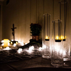 Liturgical Environment (ovolo_interiors) Tags: liturgicalenvironment liturgicalyear worshipspace prayerroom placeofprayer ordinarytime autumndecor candles lights siliconvalley local