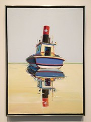 starboat (tugboat and riverboat) | wayne thiebaud (studio-s) Tags: farm christmas family kansas kansascity manhattan nelsonatkins museum nelsonslanding