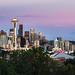 Overlooking Seattle at Twilight