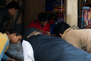 Gemstone seller, Asemka, Jakarta