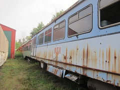 northern ohio museum 100 (Fan-T) Tags: airport rust trolley cleveland ghost seville haunted abandon transit pullman standard paranormal rapid 117 cts rta northernohiomuseum greatstreetcarwreck