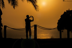 All I think about is YOU! #Silhouette (mahernaamani) Tags: sunset sea love beach beautiful silhouette canon heart zoom romance romantic iloveyou missyou miss oman muscat imissyou          600d  lovestreet    qurum             canon600d
