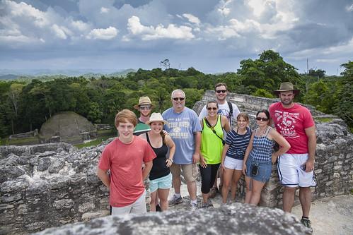 Caracol Maya Site