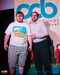 Magician vs. Clown - Out of Bounds 2015 9/2/2015 (Out of Bounds Fest) Tags: austin wednesday comedy texas improv tmn hideout outofbounds oob 2015 1000pm night3 hideouttheater thenewmovement steverogersphotography magicianvsclown oob2015