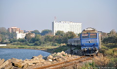 65-0947-5@ Eforie Sud (Chirila Alexandru) Tags: train tren gm general rail motors romania rails electro cfr egm railaway romane lde eforie calatori putere caile ferate