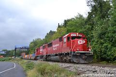 CP 6254 EMD SD60 (259) (Trucks, Buses, & Trains by granitefan713) Tags: train locomotive canadianpacific cp freighttrain emd intermodal mixedfreight manifesttrain emdsd60 sunburysub cpsunburysub