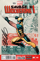 Savage Wolverine 1, signed by Frank Cho (FranMoff) Tags: signature autograph comicbooks cho wolverine shanna signed frankcho savagewolverine