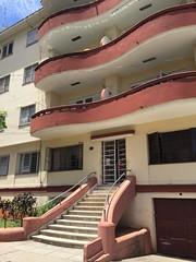Havana, Cuba (jericl cat) Tags: architecture modern avenida calle apartment balcony havana cuba entrance staircase housing variety midcentury vedado