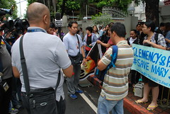 20150710-Protest for Mary Jane-061 (Lennon Ying-Dah Wong) Tags: mj philippines protest manila dfa pressconference departmentofforeignaffairs thephilippines       mjv  maryjaneveloso