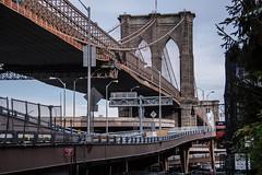 Spirit of New York (LucaDellaRina) Tags: city nyc bridge urban usa ny newyork brooklyn walking spirit manhattan citylife vision stile