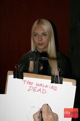 """Предпремьерный показ """"Ходячие мертвецы"""""""