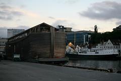 noah ark replica (NamiQuenbyBusy) Tags: noah norway stavanger nuh kapal norwegia