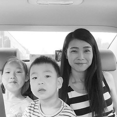 #boy #girl #child #kid #mom #son #sister #incar #together #togetherforever #happy #happiness #bw #smile