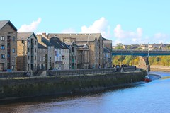 St Georges Quay (j_lambert94) Tags: bridge water st lune river boat fishing pub railway quay lancaster georges