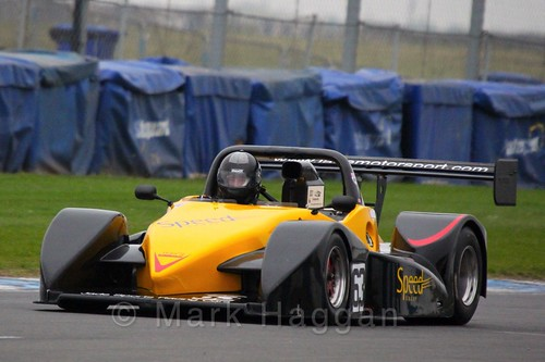 Roland Lewis in the Excool OSS Championship at Donington Park, October 2015