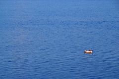 Boat in Adriatic (dcclark) Tags: blue sea boat croatia adriatic