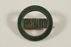 Women's Social & Political Union badge, c.1913.