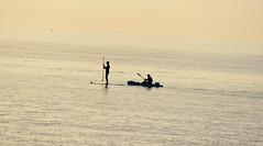 seul en mer (Jean-marc17340) Tags: nature composition funny noiretblanc imagination insolite ombres océan littoral charentemaritime chtelaillonplage littoralcharentais