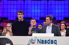Web Summit 2015 - Dublin, Ireland (Web Summit) Tags: websummit2015 nasdaq closingbell adamkostyál technology dublin ireland startups innovation inspiring inspiration