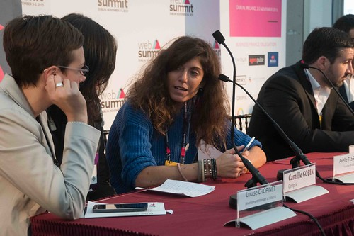 TODAY AT THE WEB SUMMIT THERE WAS A PRESS CONFERENCE HOSTED BY AXELLE LEMAIRE [FRENCH MINISTER RESPONSIBLE FOR DIGITAL AFFAIRS]-109915