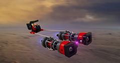 Nerdly Podracer (Swan Dutchman) Tags: starwars lego podracer nerdvember