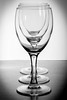 Wine Glasses (MacBeales) Tags: white black art glass canon eos 350d glasses wine