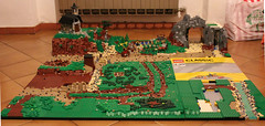 Diorama grows! (kr1minal) Tags: 2 lego bricks nazi wwi wwii german huge worldwar diorama panzer moc brickmania