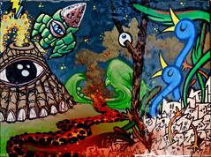 Canvas (Akbar Sim) Tags: streetart holland art netherlands graffiti rotterdam kunst nederland canvas homebase lastplak akbarsimonse akbarsim