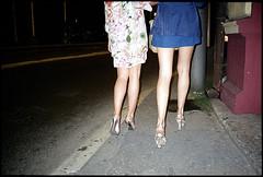 (Igor Baranchuk) Tags: girls party film 35mm legs flash balkans belgrade