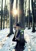 winter time (eva_wurzer) Tags: schnee winter portrait licht nikon outdoor natur frau landschaft sonne wald bäume sonnenstrahlen
