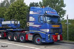"""Volvo FH III Globetrotter XL """" P.ADAMS """" (L) (magicv8m) Tags: volvo iii transport l trans fh xl globetrotter lkw tir padams"""