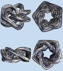 Torus / 輪環 (TANAKA Juuyoh (田中十洋)) Tags: torus 輪環 りんかん ドーナツ トーラス どーなつ mathematica 3d cg parametricplot3d texture code program algorithm abstruct graphic design pattern structure mapping figure プログラム コード アルゴリズム テクスチャ マッピング 模様 もよう 抽象 ちゅうしょう アブストラクト グラフィック グラフィクス パターン デザイン 意匠 いしょう 構造 こうぞう 図形 ずけい symmetry 対称性 たいしょうせい シンメトリー 対称 たいしょう