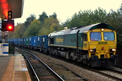 66506 - Salford Crescent (AJHigham) Tags: shed 66 class bin crescent fl salford liner freightliner 665 66506