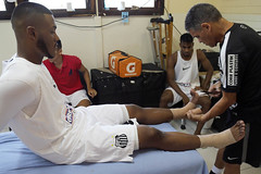Sabino Monteiro e Decio (Santos Futebol Clube) Tags: ct santos fc campeonato rei paulista sub20 semifinal 2015 pel