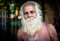 An Old Man of Princep Ghat 2 - Kolkata - Leica M9-P (Sparks_157) Tags: park leica city portrait people urban india beard asia afternoon homeless naturallight streetlife rangefinder oldman streetscene age kolkata calcutta amit westbengal princepghat leicam9 50mmf14summilux m9p amitkar