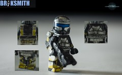 "RC-1262 ""Scorch"" (BrikSmith Customs) Tags: trooper star republic lego delta wars squad custom clone commando scorch briksmith"